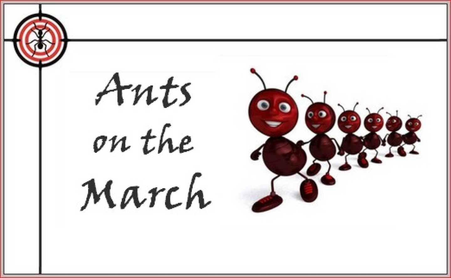 ants on the march